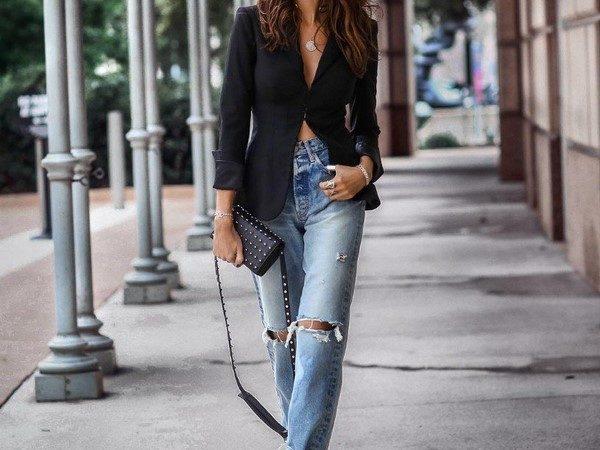 Модные женские джинсы 2019 — 2020: модные тенденции, актуальные новинки, 85 фото