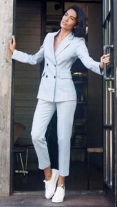 Модные женские брючные костюмы 2019 - 2020: с чем носить, тенденции, 60 фото