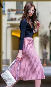 Модные женские юбки плиссе 2019 - 2020: с чем носить, модные тенденции, новинки, 60 фото