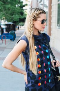 Модные прически с плетением 2019 - 2020: актуальные тренды, идеи, примеры, 65 фото